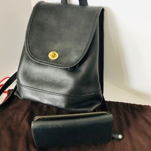 COACH 9791 Vintage Leather Daypack